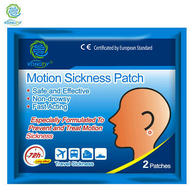 Travel Motion Sickness Relif Patch Children Adults Natural Anti Patch 3 Pairs