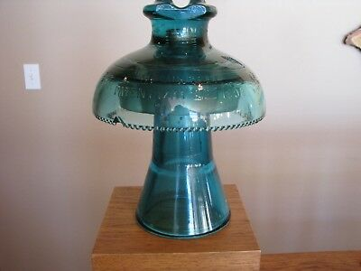 Large Two Piece 1893 Glass Insulator