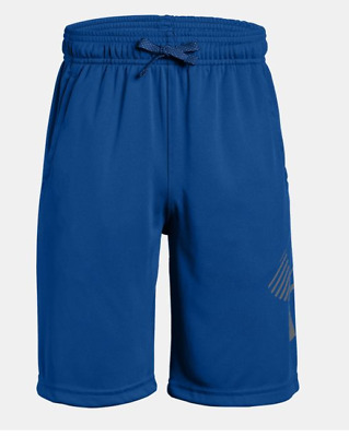 Under Armour Renegade Solid Boys' Shorts Blue Youth Medium NWT Free Shipping