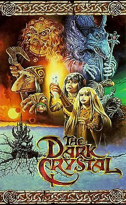 """THE DARK CRYSTAL Silk Fabric Movie Poster 21""""x36"""" New- ANOTHER WORLD"""