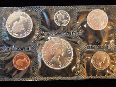 1964 Canada PL set 1.1 ounce of silver  NO reserve! (BK6)