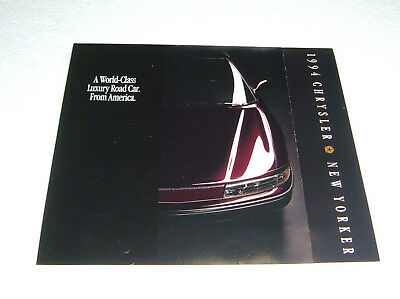 vtg. 1994 chrysler new yorker sales brochure