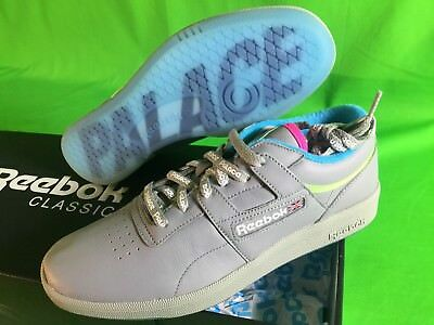 25a2a1ae2e0 Palace Skateboards x Reebok Club Workout Mens Shoes Size 10.5 Grey NEW In  Hand