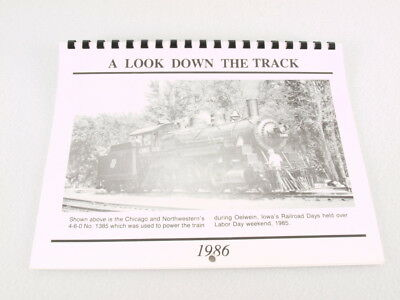 Train Calendar: Chicago Great Western A Look Down The Track 1986