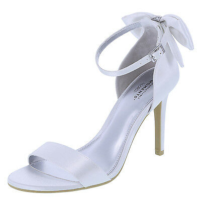 Unforgettable Moments Women's Melody Back Bow Heel **Bridal/ Wedding SHOES