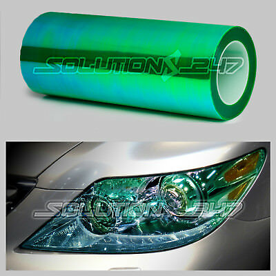 "*Extra Wide*16/""x240/"" Chameleon Neo Chrome Red Headlight Taillight Tint Film"