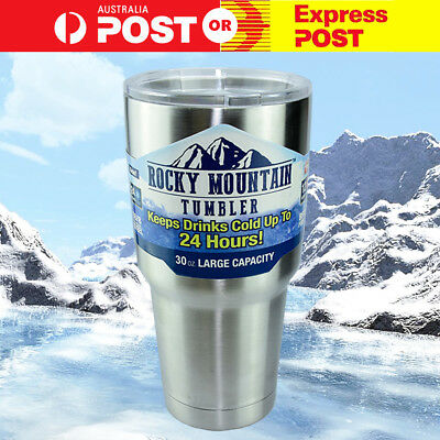 ROCKY MOUNTAIN VACUUM INSULATED COLD/HOT TUMBLER/FLASK※30oz/887ml※