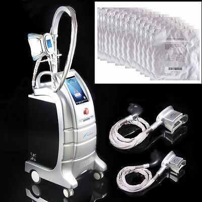 Cryotherapy Liposuction Cooling Machine Fat Freeze Cold Slimming Vacuum Machine