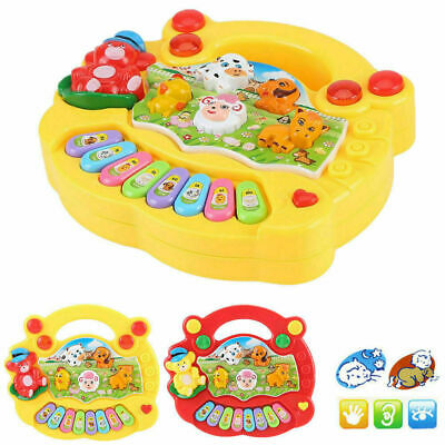 Baby Kids Musical Educational Animal Farm Piano Developmental Music Toy Gift New