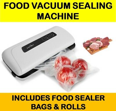 Vacuum Sealer Machine Food Saver Storage Packaging System Meat Vegetables Meals