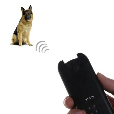 Electronic Ultrasonic Dog Repeller Chaser Stop Bark Trainer Anti Barking Device