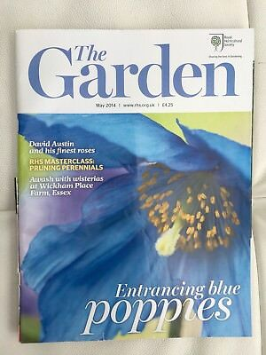 RHS The Garden Magazine May 2014 Blue Poppies
