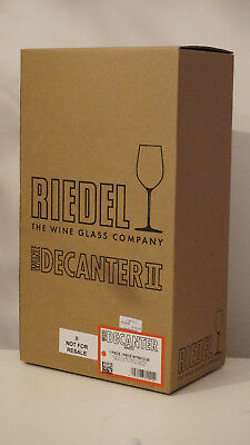 Riedel Decanter Amadeo 1 Piece Crystal Glass Made in Austria Wein Dekanter