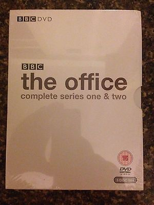 The Office Complete Series 1 & 2 Dvd Brand New & Sealed Uk Region 2