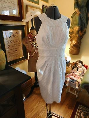 Beautiful Off White Mother Dress Or Informal Wedding/formal Occasion Size 12