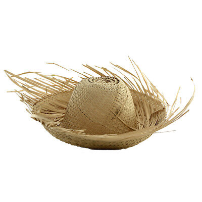 Puerto Rico Jibaro Pava Hat Adult Size Boricua , Rican FREE SHIPPING * Palm Hat