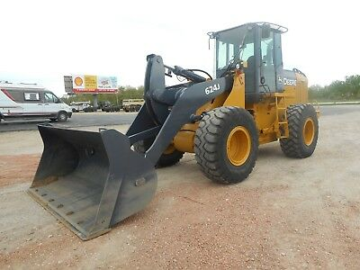 2005 John Deere 624J Articulated Loader With Only 6007 Hours