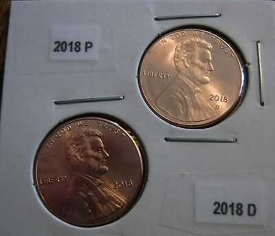 2018 P&D BU Lincoln shield cent pennies` - ready to ship -Cherry Picked For you