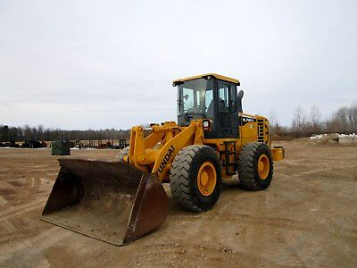 2012 Hyundai Hl740-9 Wheel Loader With Only 2884 Hours