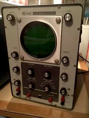 Knight Wide Band Oscilloscope, Allied Radio Corp.,Model KG-630, With Manual