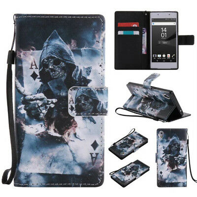 Grim Reaper Printed Flip Phone Case Cover For All Models
