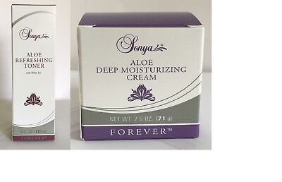 Forever Living - Sonya Deep Moisturizing Cream and Sonya Aloe Refreshing Toner
