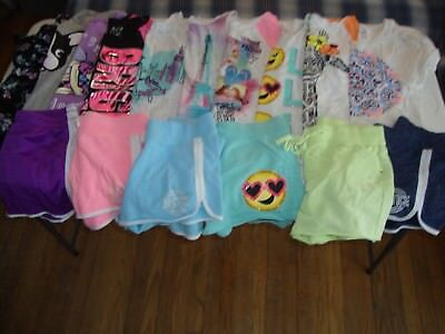 Lot Of Girls Clothes Size 14 Justice Brand