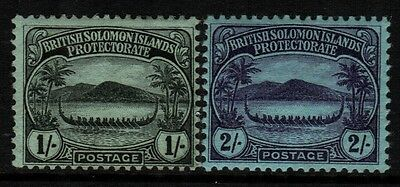 ~ Solomon Is., Mint, #8-16, 18, Og Lh/hr, (2) Shown, Excellent Centering