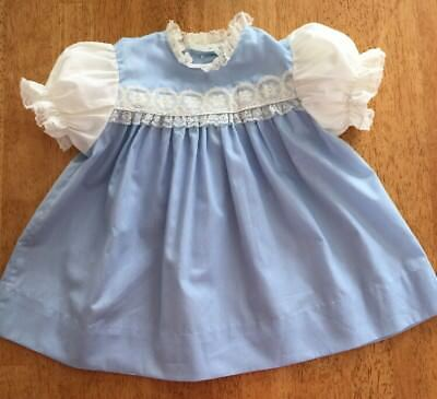 """Vintage Baby Colthes Dress """"Party Look"""" Size 12 Month"""