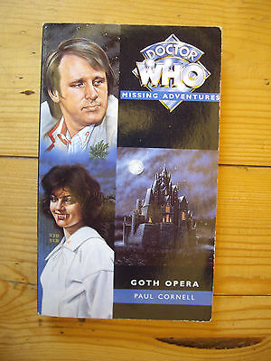 Doctor Who Goth Opera, Doctor Who Missing Adventures, Virgin book