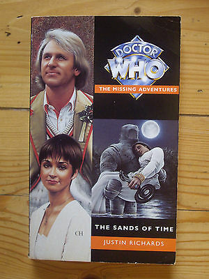 Doctor Who The Sands of Time, The Doctor Who Missing Adventures, Virgin book