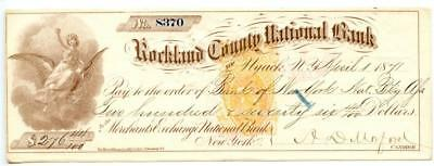 1871     Nyack, N.Y.  Revenue   Bank Check  RNB1