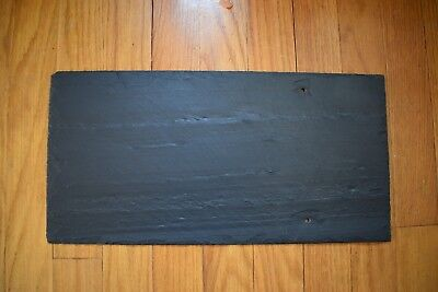 1 SPANISH BLACK ROOFING SLATE of a total of 1300 NEW SLATES 16 X 8