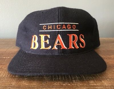 ... coupon for vintage starter wool snapback chicago bears hat nfl baseball  cap football a3c5b 4e994 ed994f38c
