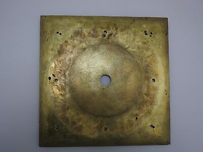 Cast brass front plate