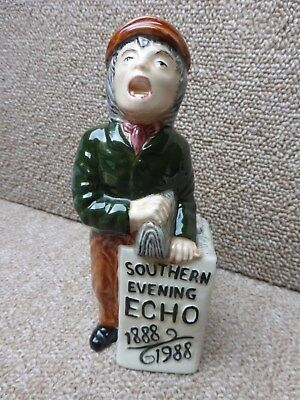 A Shorter marked Toby Jug of a Newspaper Seller in excellent condition
