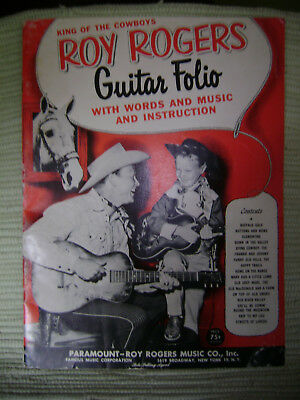 King of the Cowboys Roy Rogers Guitar Folio