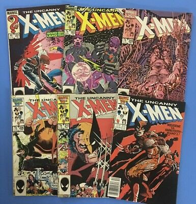 Awesome UNCANNY X-MEN Lot #187-#270 See Photos and Description for issue #'s