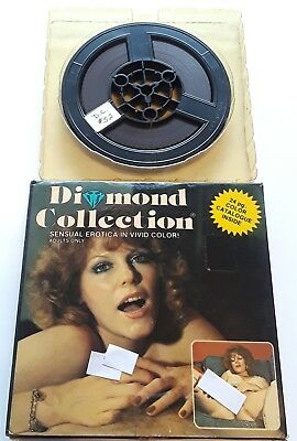 "Vintage 8mm Diamond Collection 52 ""Hot Redhead"" Adult Erotic Stag Film"