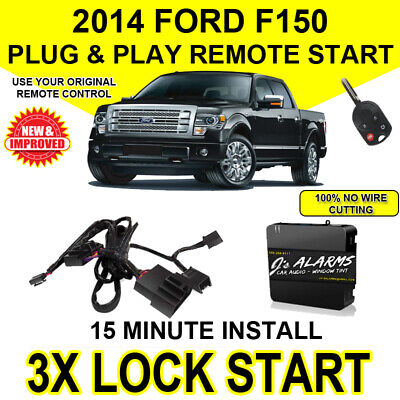 2014 Ford F-150 Remote Start Plug and Play Easy Install Truck F150 3X Lock