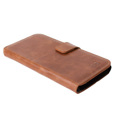 Cell Phone Accessories Bouletta Leather Wallet Case For Samsung Galaxy S6 Antic Brown G2 H1891