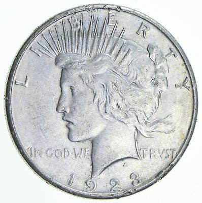 Early 1923-S Peace Silver Dollar - 90% Silver - US Coin *263