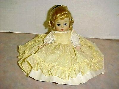 Vintage Madame Alexander Kins Little Women AMY Doll Bent Knees fully clothed