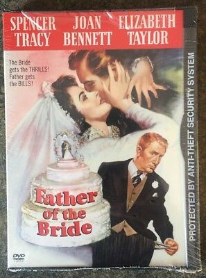 ** Father of the Bride, DVD, brand new, factory sealed! Spencer Tracy!