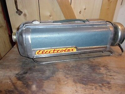 Vintage 1950s Electrolux Vacuum Cleaner Model LX Canister Retro ~ Works!