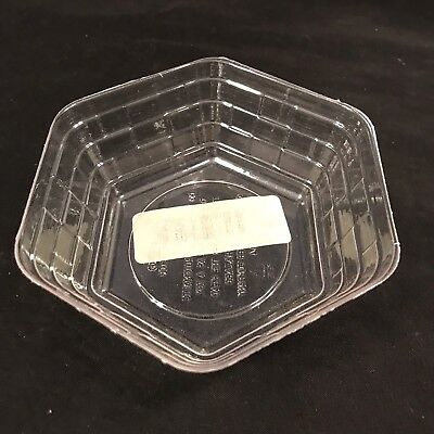Longaberger Basket Protector Plastic Hexagon 2 Inches Tall #41734 (B2-3)