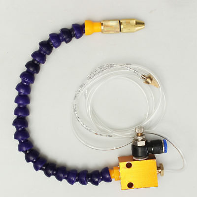 Mist Coolant Lubrication System For CNC Lathe Milling Drill 8mm Air Pipe TOP USA