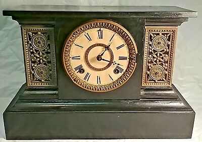 Antique Ansonia Mantel Clock 1882!