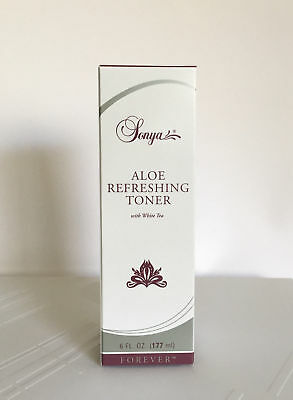 Forever Living Sonya Aloe Refreshing Toner with white tea (4 fl.oz) Exp. 2021