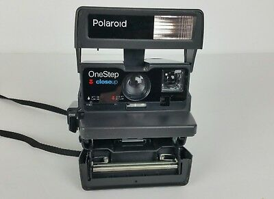 Polaroid One Step Close Up 600 Instant Film Camera TESTED WORKING
